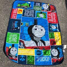 THOMAS THE TRAIN Tank Engine Toddler Blanket Crib Baby Quilt 42 x 58