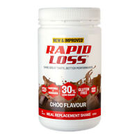 Rapid Loss Shake Choc Meal Replacement Weight Loss