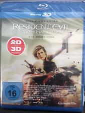 Resident Evil - The Final Chapter - 3D BLU-RAY/NEU/OVP