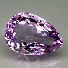 Pear Loupe Clean Loose Amethysts
