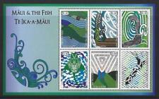 NEW ZEALAND 2018 MAUI AND THE FISH MINIATURE SHEET UNMOUNTED MINT, MNH
