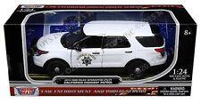 Motor Max 1:24 - 2015 Ford Police Interceptor Utility California Highway Patrol
