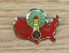 1985 American Legion Get Involved Lighthouse Usa Collectible Pin / Lapel *Read*