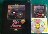 RED BARON 1996 DYNAMIX SIERRA ORIGINALS COMBAT FLIGHT SIM PC GAME DOS CD BIG BOX