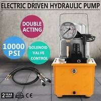 70MPa 110V Electric Driven Hydraulic Pump 10000PSI Pedal☆Solenoid valve Control☆