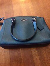 Coach Green Metallic Small Handbag/