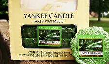 """Box Lot of 24 Yankee Candle """"UNDER THE PALMS"""" Tarts Wax Melts"""