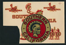 University of Southern California USC Trojans _ORIG_ 1950s Decal College Sticker