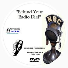 BEHIND YOUR RADIO DIAL - NBC Radio Film Documentary On DVD - Narrator Ben Grauer