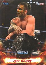 TNA Jeff Hardy #5 2013 Impact Wrestling LIVE GOLD Parallel Card SN 13 of 50