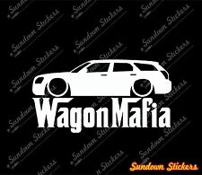 Lowered WAGON MAFIA sticker -  for Dodge Magnum station wagon mopar