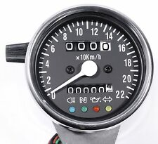 Mini Tachimetro km/H CONTROLLO SPIE x Harley Davidson
