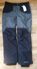 NWT COLUMBIA MEN'S  OUTDRY GLACIAL NORDIC HYBRID SKI SNOW PANTS BLACK M NEW $175