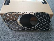 Bentley Bentayga Front Left Bumper Chrome Grill With Acc. Hole