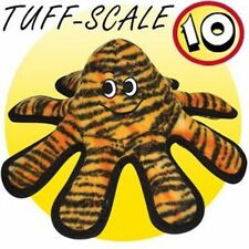 VIP Tuffy Dog Squeaky Tough Fabric Toy  Mega Oscar Octopus Small