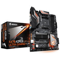 Gigabyte AORUS X470 ULTRA GAMING Desktop Motherboard + Ryzen 7 2700 Processor