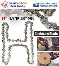 """14"""" 009 010 017 019 023 MS170 MS180 Chainsaw Chain Blade Stihl 3/8"""" LP .050 50DL"""
