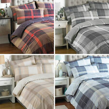 Contemporary Polycotton Checked Bedding Sets & Duvet Covers
