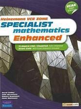 Heinemann Vce Zone Specialist Mathematics Enhanced by John McLaverty, Anne...