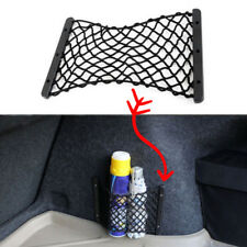Black Universal Car Rear Seat Back Side Trunk Cargo Net Cage Storage Pocket Bag