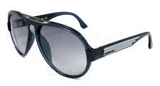 Diesel Sunglasses 0020 Transparent Blue Light Grey 90X Men's Aviator DL0020 58mm
