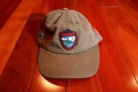 Maine Dept. Inland Fisheries Wildlife L L LL L.L. Bean Baseball Hat Cap Vintage