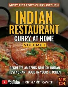 INDIAN RESTAURANT CURRY AT HOME VOLUME 1 Misty Ricardo's Curry ...Free Shipping