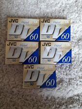 JVC digital Video Cassette DV 60 / LP mode 90 5 X New