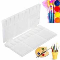 25 Grids Plastic Large Art Paint Draw Tray Watercolor Palette Artist Supplies