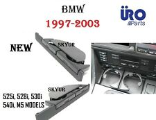 Front Dashboard Cup holder For BMW 525i 528i 530i 540i M5 525 530 540 BLACK NEW