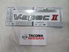 GENUINE NISSAN R34 GTR V-SPEC II REAR EMBLEM 84896-AB000