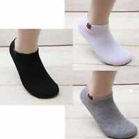 8 pairs Low cut Ankle Socks Casual Fashion Color Design Cotton Mens Korea V_e