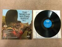 "THE WORLD OF MILITARY BANDS VOL 2 Vinyl Record LP 12"" DECCA 1970 SPA.66"