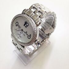 SARTEGO Women's Diamond Collection White Pearl Swiss Quartz Watch SDPP062S
