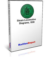 P&LE PMcK&Y Steam Locomotive Diagrams - PDF on CD - RailfanDepot