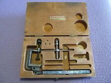 Starrett Dial Indicator Gauge Set Accessories Only, No Gauge Missing Other Parts