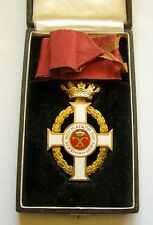 y130 Greece Royal Order of King George I Commander in Box