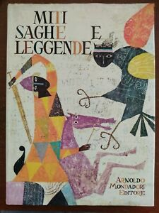 Libro MITI SAGHE E LEGGENDE ILLUSTRATO Provensen PROVENSEN MONDADORI 1970