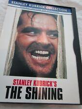 Stanley Kubrick's The Shining Movie Dvd Jack Nicholson Shelley Duvall Used