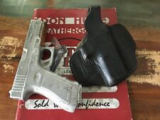 Vintage Don Hume 721 Black Leather OWB Double 9 Holster for Glock 17 or Similar