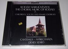 The Choral Music Of Kodály 7 - Children's, Youth And Female Choruses CD 1990 new