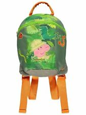 Boys George Pig Jungle Rucksack Bag with Reins Safety Harness Toddler BNWT