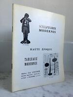 Catalogue Di Vendita Sculture Moderno Alto Periodo Lavagna Moderno 1967