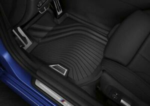New Genuine BMW 3 Series All Weather Front Floor Mats G20 G21 Rubber Set