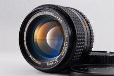 [Excellent+++]  MINOLTA  MC  ROKKOR  PG  F/1.4   50mm  MF from Japan  F/S  #6052