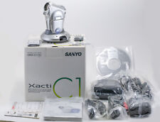(51) Sanyo Xacti DMX-C1(S) digital camcorder 3.2MP 5.8x w/accessories papers box