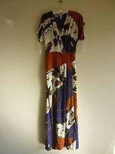 DIANE VON FURSTENBERG  Silk Maxi Dress size UK10