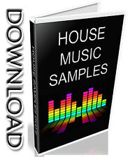 HOUSE SAMPLES- WAV FILES- 28,000 SAMPLES- LOOPS + SINGLE SHOTS- 19.4GB- DOWNLOAD
