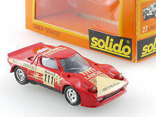 Solido 27 LANCIA STRATOS RALLY modello di auto auto da corsa decals 1:43 OVP 1411-14-45