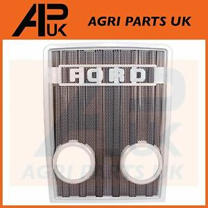 Front Grille Grill Light Lamp Holes for Ford 2600 3600 3900 4600 5600 Tractor